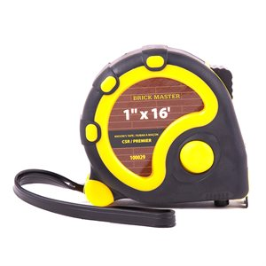 Measuring Tape Mason's 16ft / 5m x 1in