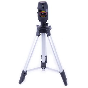 Leveling Laser Impact Resistant w / Tripod and 360 Rotating Base