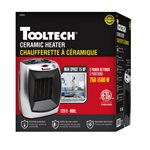 Ceramic Heater w / Thermostat 750-1500W 120V 60Hz
