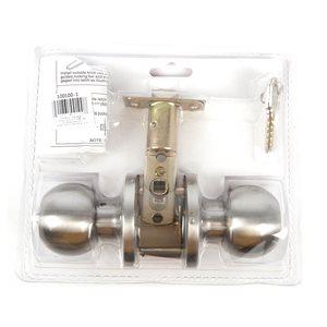 Door Lock Knob Entry Stainless Steel KA1