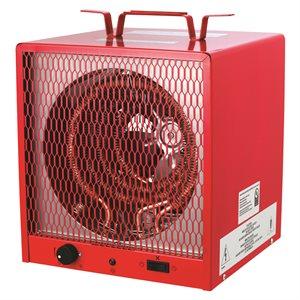 Fan-Forced Construction Heater Closed Motor