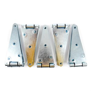 10 pc Hinge 6in Strap HD Zinc