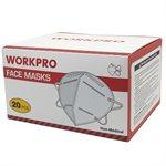 20PC Masque Faciaux Jetable KN-95 Blanc