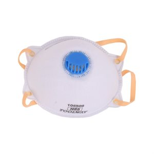 2 PC Dust Mask w / Valve 3Ply