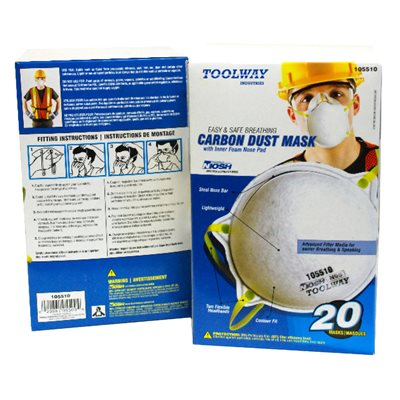 20 PC Dust Mask Carbonated