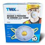 10 PC Dust Mask Carbon w / Valve