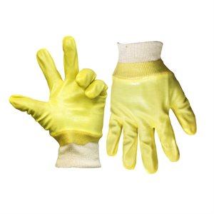 1dz. Heavy Duty PVC Gloves Knitted Cuff (OSFA)