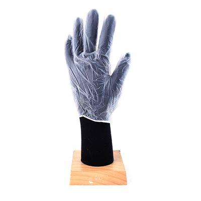 100Pk Premium Quality Disposable Vinyl Gloves White (XL)