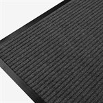 Ribbed Mat Twin 36in x 48in Charcoal