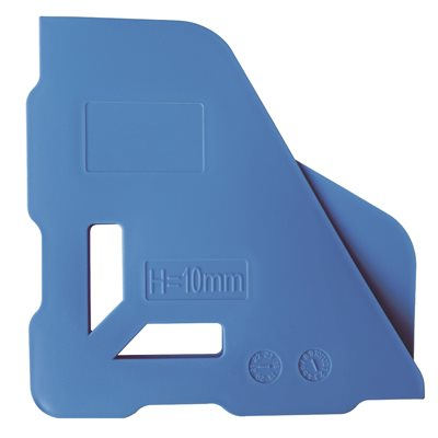 4PC Plastic Corner Protectors For 8mm Tile