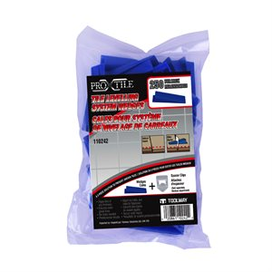 Tile Levelling System Wedges 250PC / bag