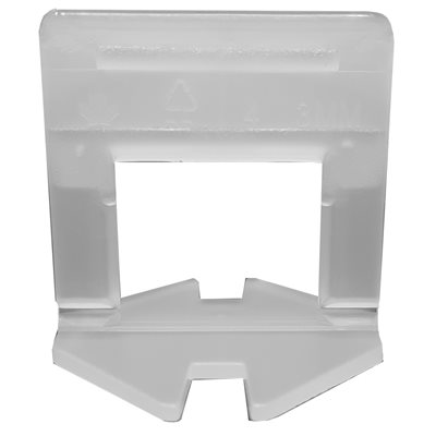 100PC Tile Levelling Clip L-Type 2mm (3 / 32in)