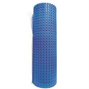 """Uncoupling Membrane For Floor Heating System 1m x 5.6mm x 10m (40""""x33') Blue"""