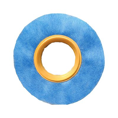 Nonwoven Membrane Fabric ?25cm With Rubber Mixing Valve 100mm / 110mm Blue