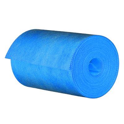 "Nonwoven Membrane Fabric Band 12.5cm x 10mil x 10m (5""x33') Blue"