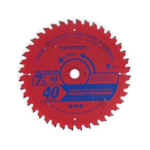 Saw Blade Alum TCG Cut 7¼in (184mm) 40T 7000RPM