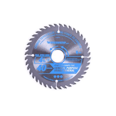 Saw Blade Ripping & Framing 4½in (115mm) 40T 12000RPM