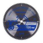 Saw Blade Fine Cut 10in (255mm) 80T 5100RPM -Wood