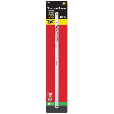 Hacksaw Blade 12in 18T HSS 2 / pk
