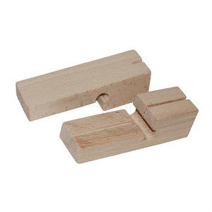 2PC Wood Line Blocks