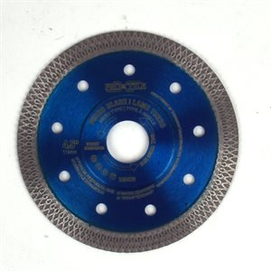 Cont. Mesh Rim Dmd Saw Blade Extra Turbo 4½in