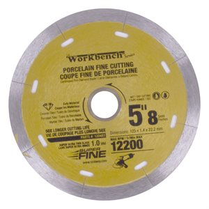 Diamond Saw Blade 5in 125mm x 8mm Super Thin With 8 Slots