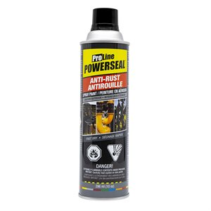 Anti-Rust Paint Spray Flat Black 285g (10oz)