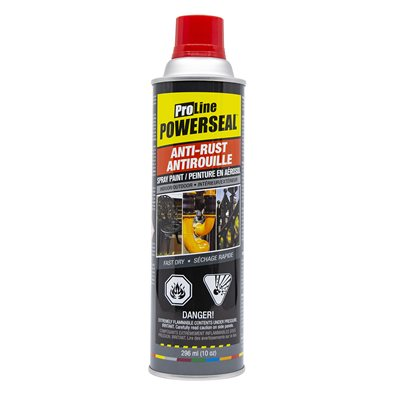 Anti-Rust Paint Spray Red Gloss 285g (10oz)