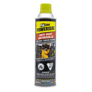 Anti-Rust Paint Spray Yellow Gloss 285g (10oz)