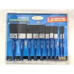10PC No Bristle Loss Brush Set
