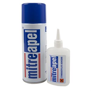 Cyanoacrylate Adhesive Combo 100g / 400ml Mitreapel
