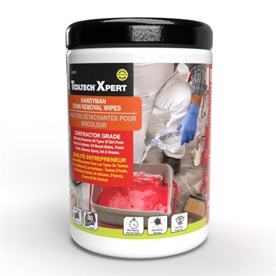 Handyman Stain Removal Wipes 80 Count