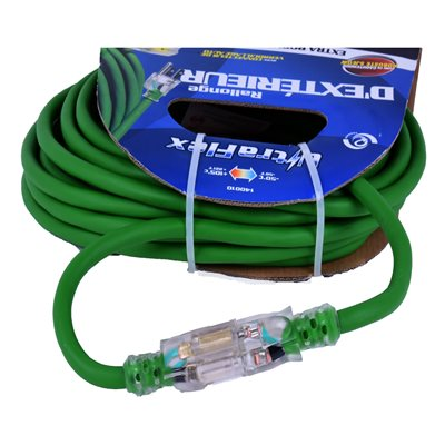 Extension Cord 9m / 30ft SJEOW 12 / 3 1-Outlet
