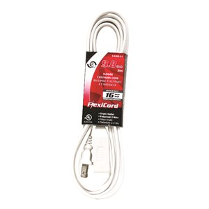 Extension Cord Indoor SPT-2 16 / 2 3-Tap White 3m / 9.8ft