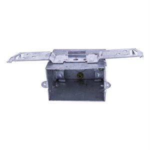 (1104LB) 3in X2in Box w / Clamps & Mount Bracket