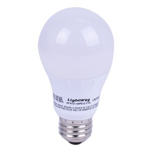 2PC Bulb LED Soft White A19 5.5W 3000K Dimmable