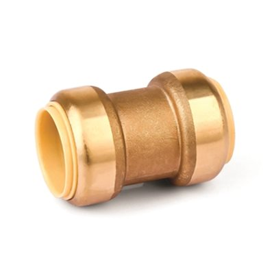Brass Lead Free Coupling ¾in x ¾in