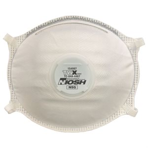 10PC Disposable Dust Masks With Valve N95