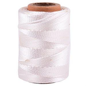 Braided Nylon Twine White 960ft 1lb