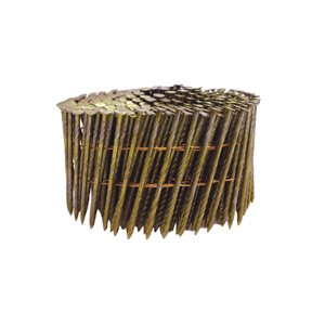 Coil Framing Nail 15deg 0.120 x 3 ¼in 4000 / box
