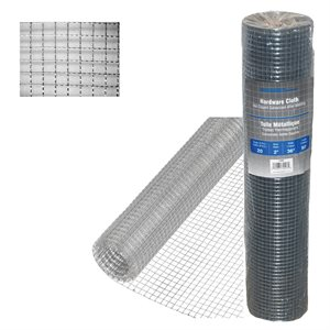 ½in x48in x50ft 19 -Gauge Galvanized Steel Hardware Cloth