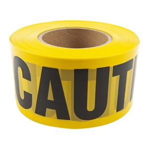 Caution Tape With Dispenser 3inx1000ft