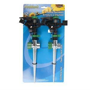 2pc Impulse Sprinkler Set