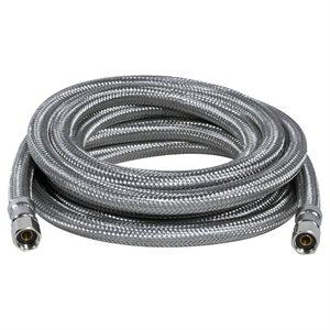 Flex Connector SS 1 / 4 Comp x 1 / 4 Comp x 20ft Ice Maker