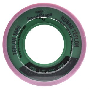 10PC Teflon Tape 260in x½in Pink