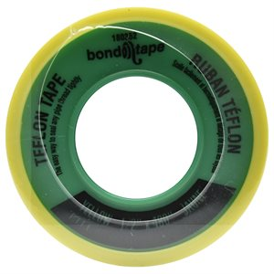 10PC Teflon Tape 480in x½in Yellow