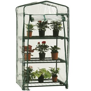 3 Tier Greenhouse 27in x19in x49in