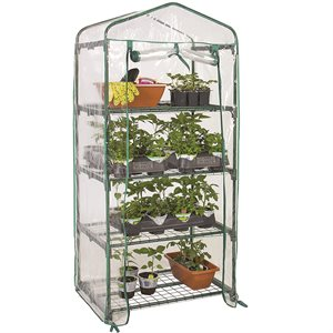 4 Tier Greenhouse 27in x19in x61in