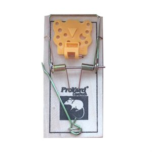 2PC Wooden Mouse Traps With ABS Trigger