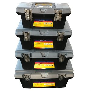 4PC Toolbox Set 14in 16in 19in 23.5in (187014 / 16 / 19 / 23)